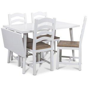 Dalsland matgrupp, Bord med klaff och 4 st New England matstolar