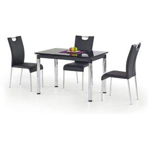 Amalie matbord 110-170 cm - Svart
