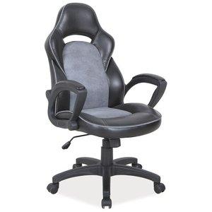 Janae kontorsstol - Svart/grå