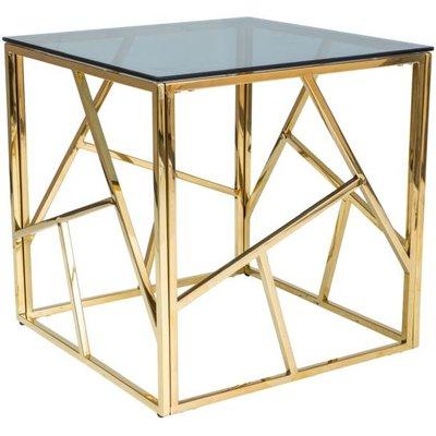 Leavitt lampbord - Guld/svart