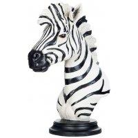 Dekoration Zebra - Svart/vit