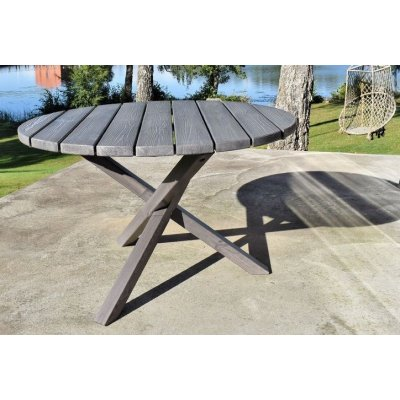 Scottsdale runt matbord Ø112 cm -Grålaserad