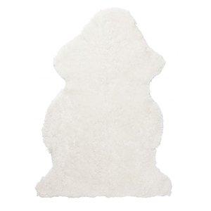 Curly fårskinn - 95x55 cm - Vit