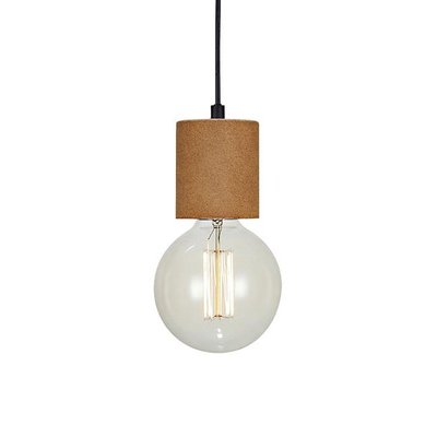 Cork Fönsterlampa - Brun