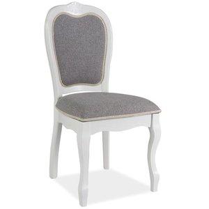 Jordynn stol - Grå/vit