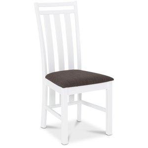 Skagen matstol - Vit / Brun