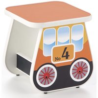 Tuffe barnbord 31x31 cm - Orange