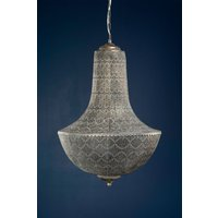 Taklampa Stace 47x72 cm - old antique