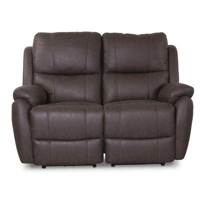 Enjoy Hollywood El-Recliner 2-sits soffa - Brunt microtyg