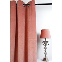 Velvet Gardinpar 240x140 cm - Dusty rose