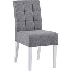 Ruby stol - Grå/vit