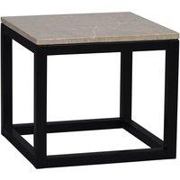Keira soffbord 50 - Marmor/svart