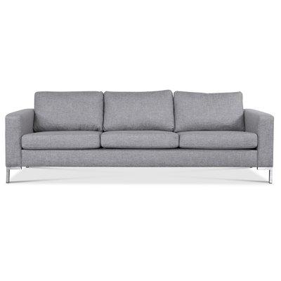 Nova 3-sits soffa - Grått tyg
