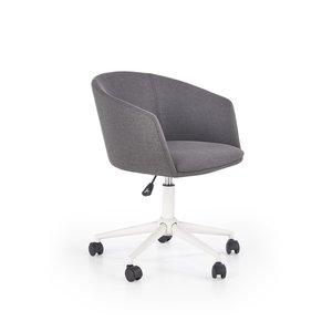 Shelly kontorsstol - Grå/vit