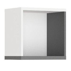 Jacklyn vägghylla - Vit/graphite
