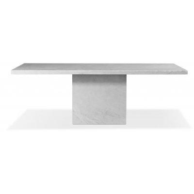 Pegani matbord vit marmor - 215x110 cm
