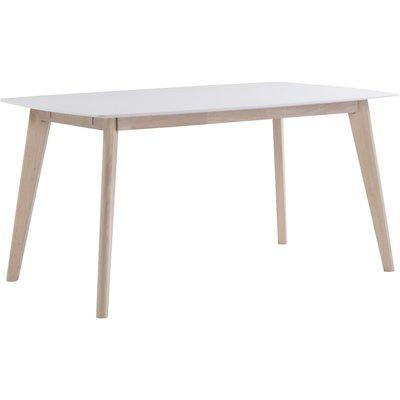 Catherine matbord 150 cm - Vit/whitewash