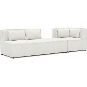 Rovigo byggbar 4-sits soffa med hörndel - Natur