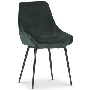Theo stol - Grön sammet