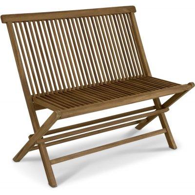Grunnebo ihopfällbar soffa i teak - Teak