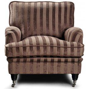 Howard Sir William Fåtölj (Dun) - Mobus Chocolate Stripe & 6590.00
