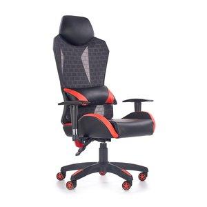 Lianne kontorsstol - Röd/svart