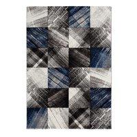 Maskinvävd matta Sherwood - Blå