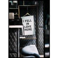 FELL IN LOVE - Poster 50x70 cm