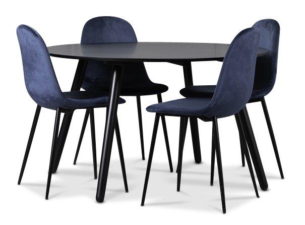 Letar du svart köksbord? Stort sortiment av svarta matbord.