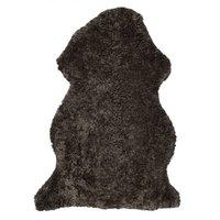 Curly fårskinn - 95x55 cm - Brun