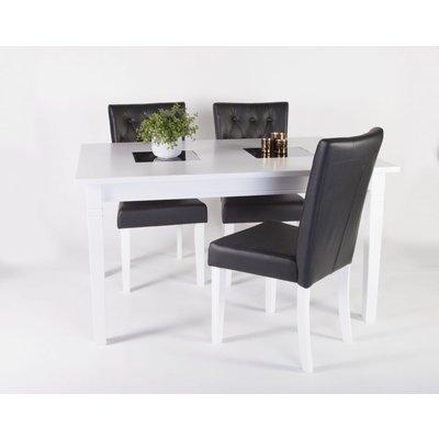 Halmstad matgrupp -Bord inklusive 4 st stolar