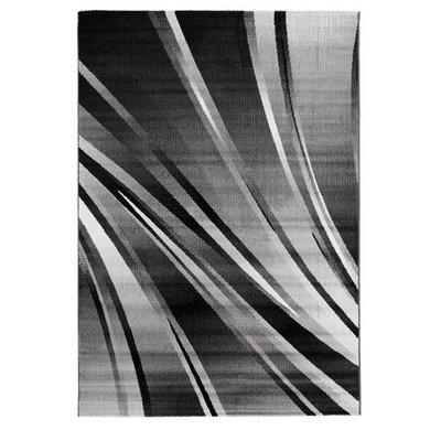 Maskinvävd matta Merton - Svart