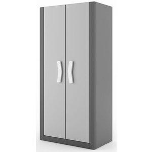 Arden garderob - Graphite/grå