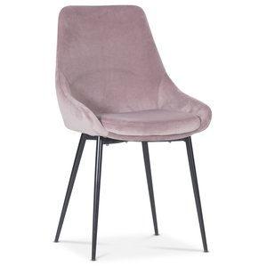 Theo stol - Rosa sammet