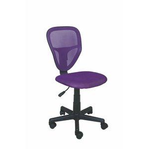 Burhan skrivbordsstol - Lila