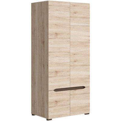 Brynolf garderob - Whitewash oak