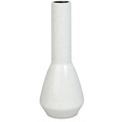Vas Sol/Kvist H30 cm - Vit melerad