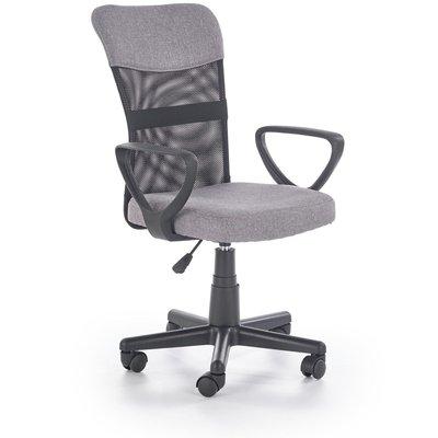 Matthias kontorsstol - Grå/svart