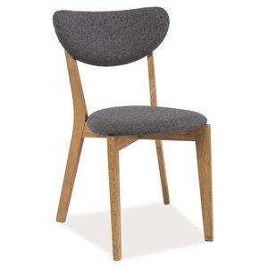 Ariel stol - Ek/grå