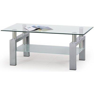 Paisley soffbord - Silver