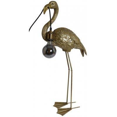 Flamingo lampa - Mässingsmelerad