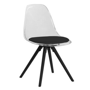 Syracuse stol - Vit/svart