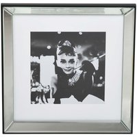 Villa tavla Audrey Hepburn - Spegelram