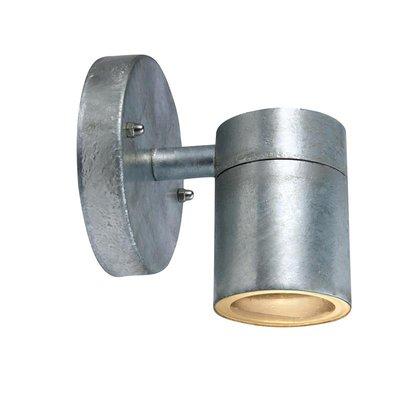 Dan Vägglampa - Galvaniserad metall