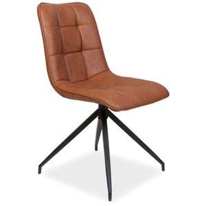 Emelia stol - Brun/svart