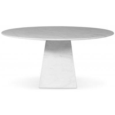 Pegani runt matbord i vit marmor - D150 cm
