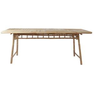 Bambu matbord Nature - Natur