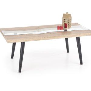 Olav soffbord - Ek/svart