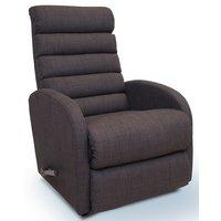 Lazboy Houston reclinerfåtölj - Mörkgrått tyg