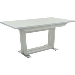 Bjärs matbord - Vit högglans